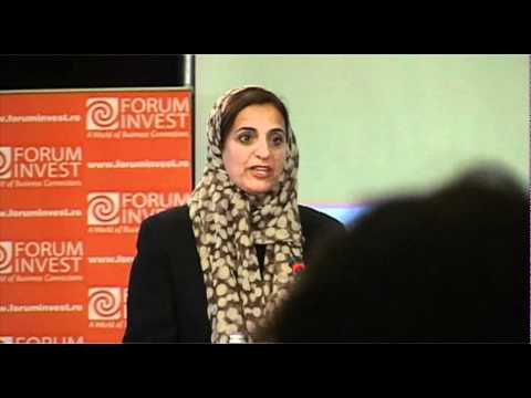 Sheikha Lubna bint Qasimi, FORUM INVEST, GULF COOPERATION COUNCIL - ROMANIA - BUCHAREST