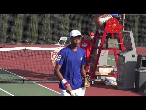 01 07 2018 Eubanks Vs Sell 25K USC men's tennis Futures Finals