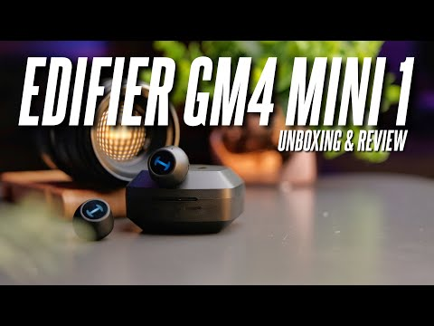 The Upgraded Mini Gaming Earbuds! Edifier Hecate GM4 Mini1