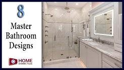 8 Master Bathroom Designs You May Like - Interior Design Ideas