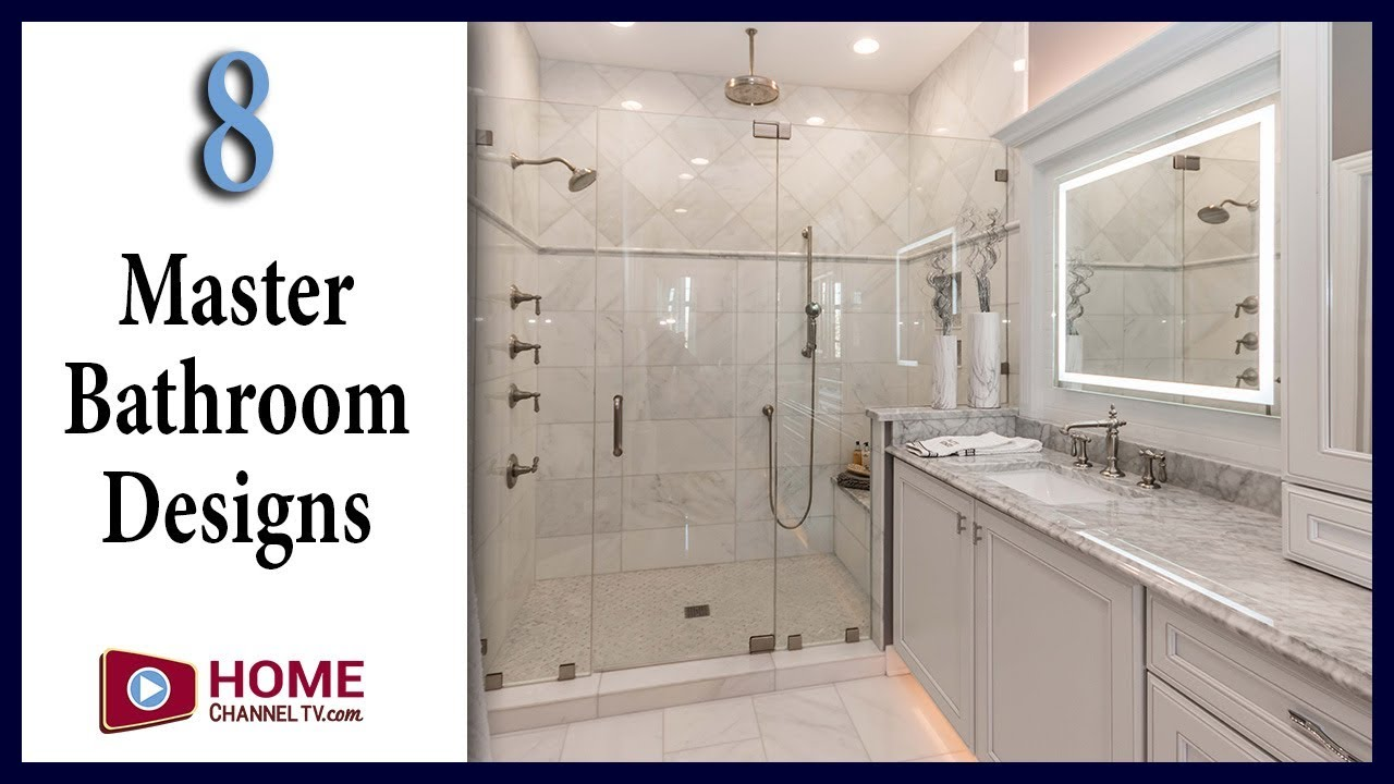 8 Master Bathroom Designs You May Like - Interior Design Ideas - YouTube