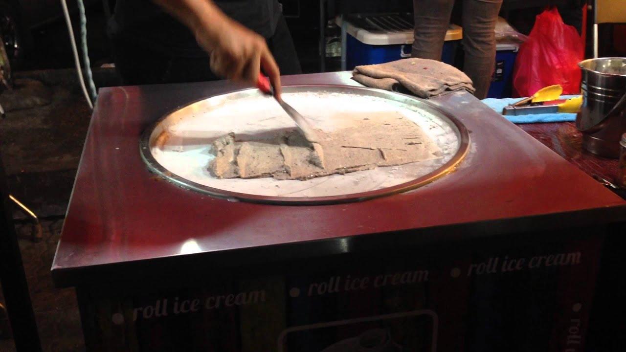 Roll ice cream di kuala lumpur malaysia youtube ccuart Images