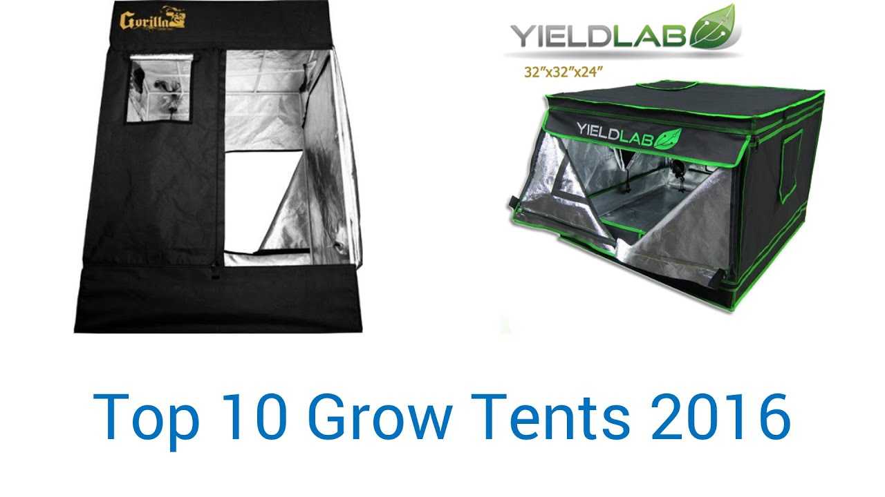 sc 1 st  YouTube & 10 Best Grow Tents 2016 - YouTube