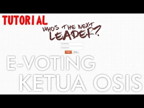 Cara membuat E-Voting PEMILU secara online untuk Pemilihan Ketua OSIS [TUTORIAL] - Part 1