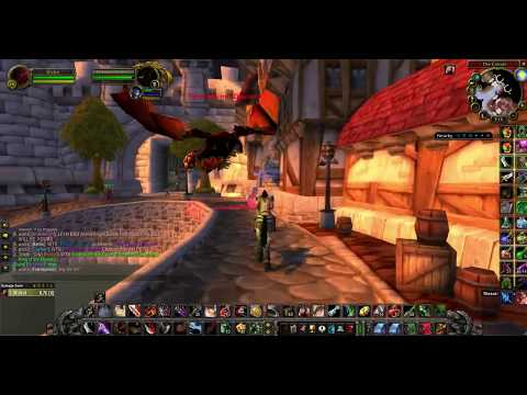 Wow Classic - Stormwind Dragon Invasion.