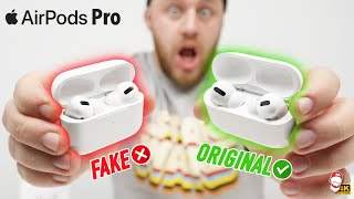 ❌ Apple AirPods Pro FAKE vs. ORIGINAL: To bylo hodně rychlé! | WRTECH [4K]