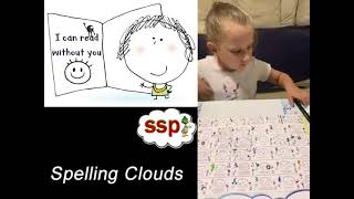 Spelling Clouds - All Spelling Choices - English Spelling