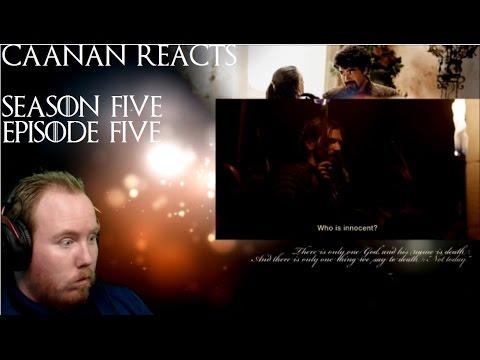 Game of Thrones - Season 5 Episode 5 Reaction - Kill the Boy