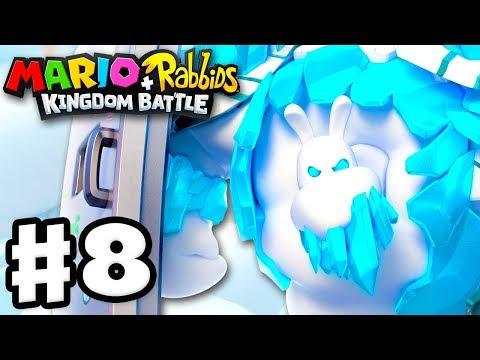 Download Youtube: Mario + Rabbids Kingdom Battle - Gameplay Walkthrough Part 8 - Icicle Golem Boss Fight!