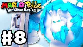 Mario + Rabbids Kingdom Battle - Gameplay Walkthrough Part 8 - Icicle Golem Boss Fight!