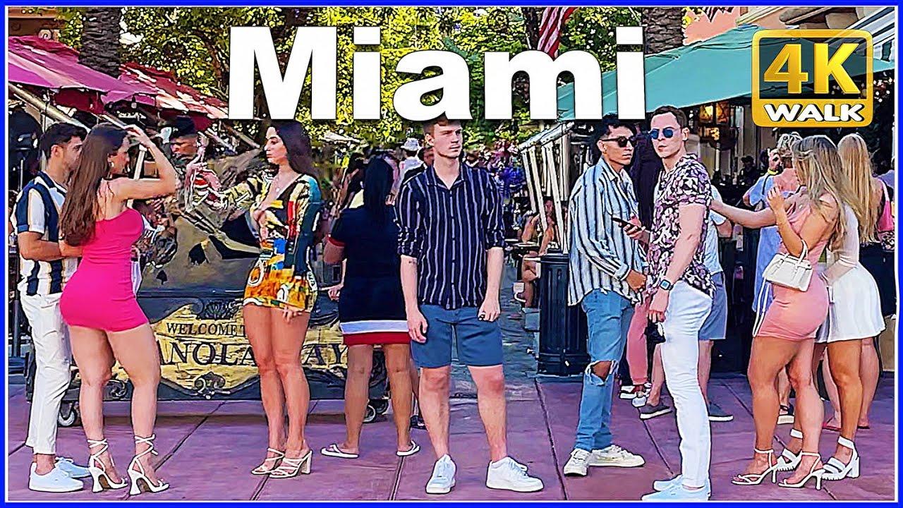 【4K】WALK MIAMI Beach Florida 4K video USA Travel channel
