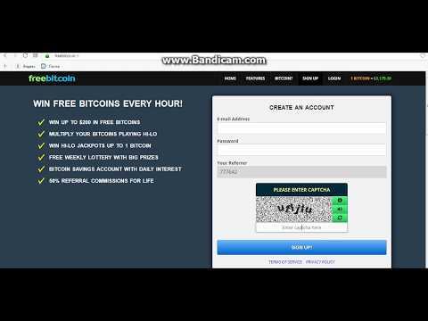 Freebitco.in регистрация