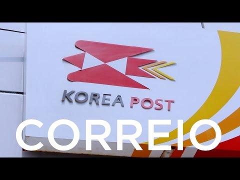 Correio - Coreia do Sul para o Brasil