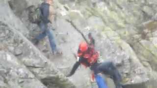 Helikopter w górach interwencja TOPR GOPR Policja Tatry Orla Perć 2013