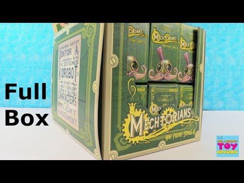 Kidrobot Mechtorians Mini Figure Series 2 Full Box Opening Review | PSToyReviews