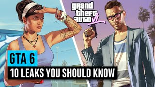 Grand Theft Auto 6 | 10 Leaks You Need To See
