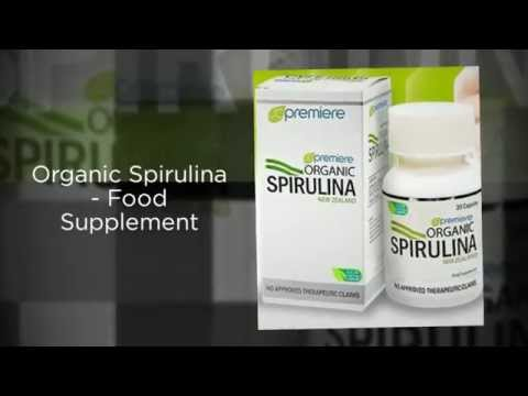 Organic Spirulina Food Supplement