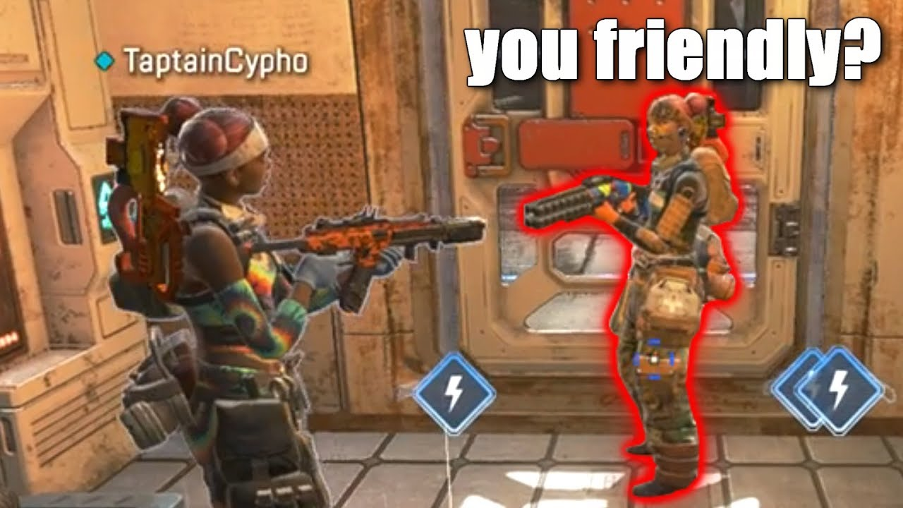 b241925d68444d so we found friendly players in apex legends.. - YouTube