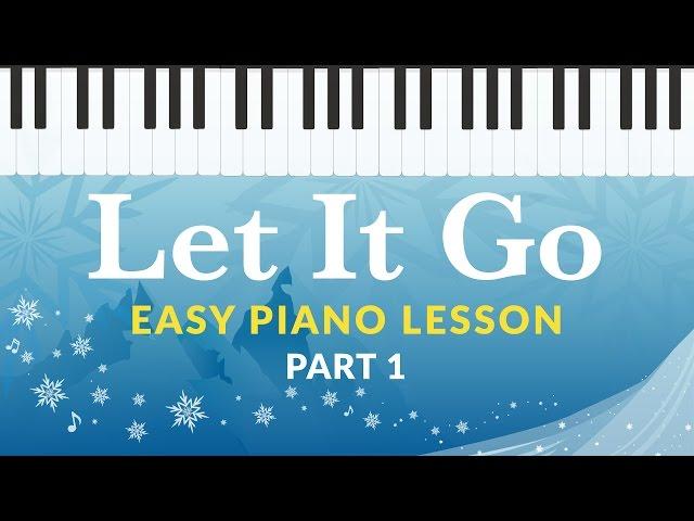 Let It Go Frozen Easy Piano Tutorial Hoffman Academy Youtubemoney
