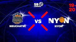 SB League - Day 20: NEUCHATEL vs. NYON