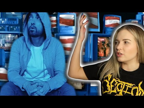 Eminem - Darkness | MUSIC VIDEO REACTION