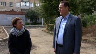 Nazorat qilish. Sergey Kerselyan Ivanteevka ichida dasturi ta'mirlash amalga oshirish tekshiriladi.