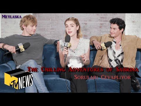 'The Chilling Adventures of Sabrina' kadrosu MTV ile 'Dive in' Oynuyor (Türkçe Altyazılı)