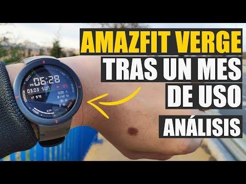 Amazfit Verge tras un mes de uso, review y opiniones