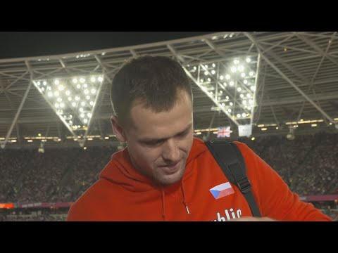 WCH 2017 London– Petr Frydrych CZE Javelin throw Bronze