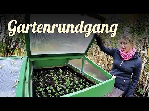Gartenrundgang Oktober | GARDEN TOUR | Selbstversorger Garten