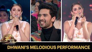 Dhvani Bhanushali's Melodious Performance | Umang 2020