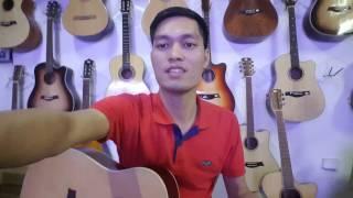 Đàn guitar giá rẻ 1350k - Mã FS1 - gỗ nguyên tấm