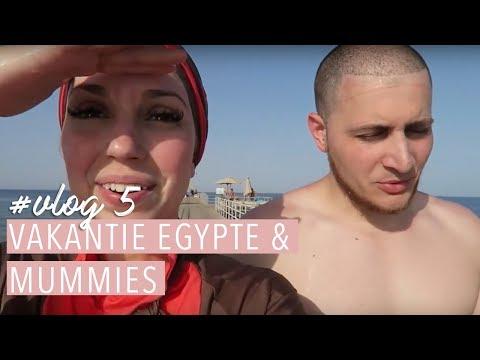 Vakantie EGYPTE 🐫& stiekem MUMMIE gefilmd!💀Vlog #5. | Delia Skin Master