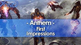 First Impressions of Anthem, Bioware's New IP