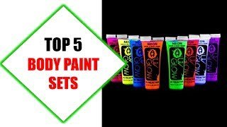 Top 5 Best Body Paint Sets 2018 | Best Body Paint Set Review By Jumpy Express