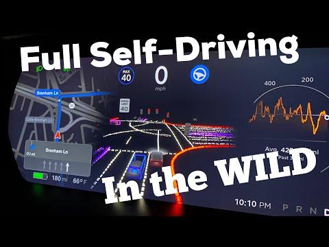 Tesla Full Self Driving Beta Test Drive (daylight)