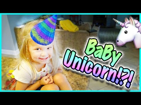 🦄 IS RORY TURNING INTO A UNICORN!?! 🦄 AYDAH GOES INTO THE DEEP BLUE SEA!!! 🦄 Family Vlog