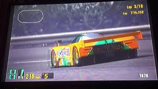 Gran Turismo 3 A-Spec GT-ONE Race Car (TS020) Test Course 1/2