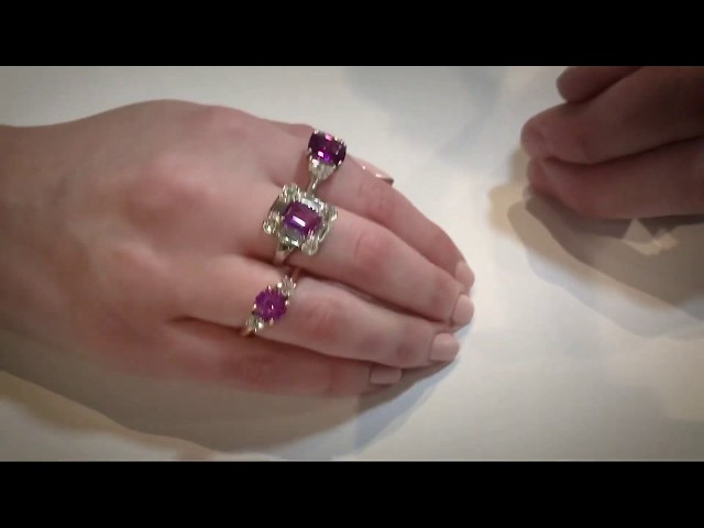 Pink alternative for your engagement rings by Hirsh London