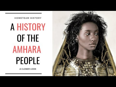A History Of The Amhara People - YouTube