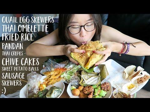 MUKBANG – Thai Street Food (Part 2)