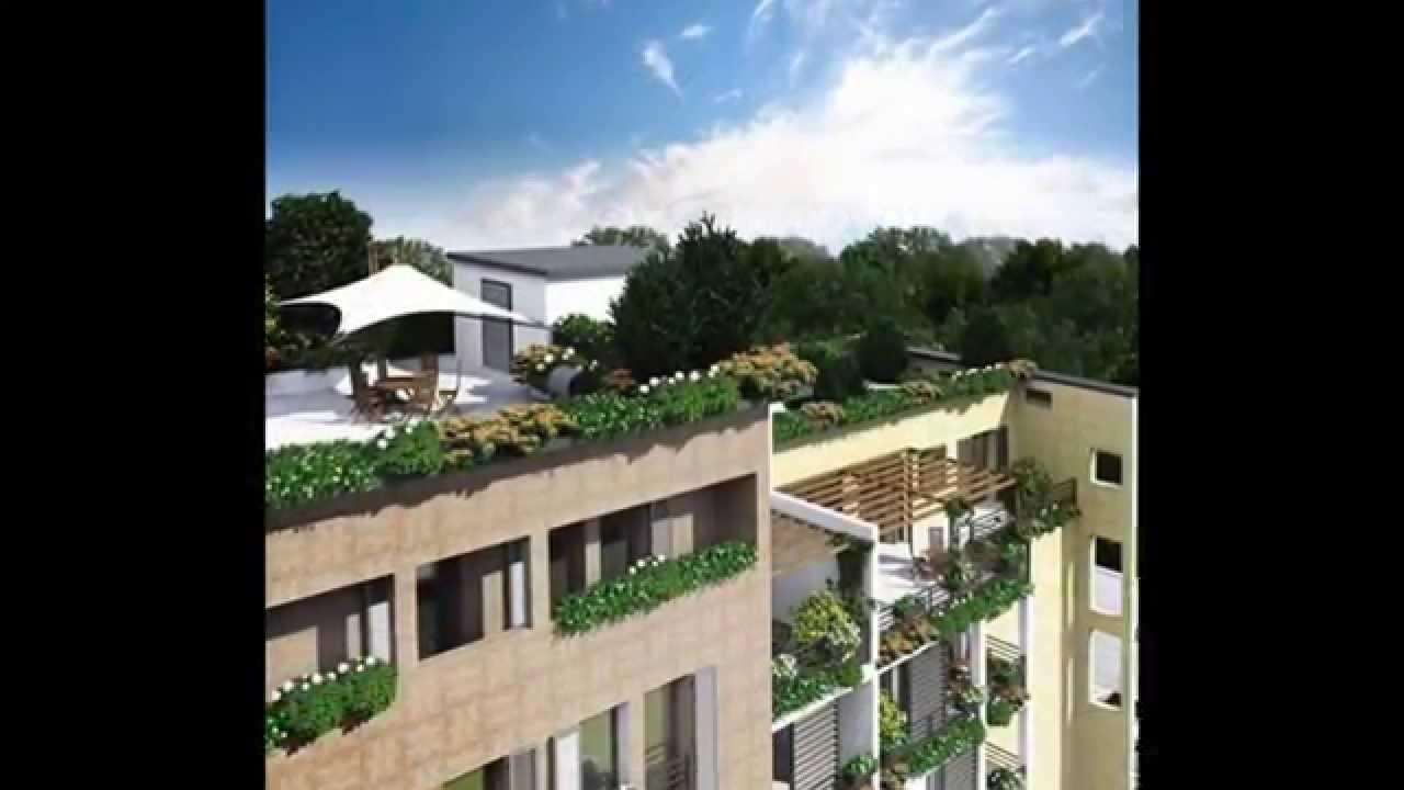 Appartamenti in vendita a Gallarate - Residenza Le Terrazze - YouTube