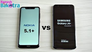 Nokia 5.1 Plus vs Samsung Galaxy J4 Plus SpeedTest Camera Comparison