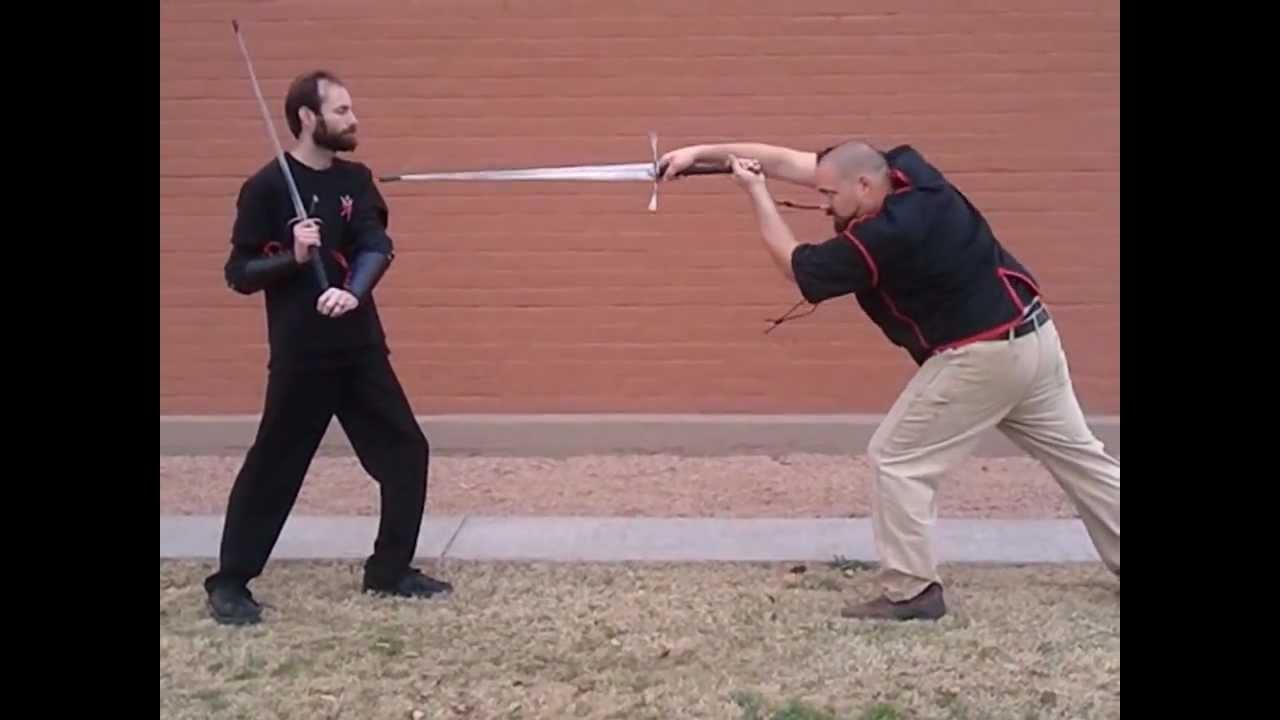 Italian Longsword How To -Woman's Guard-