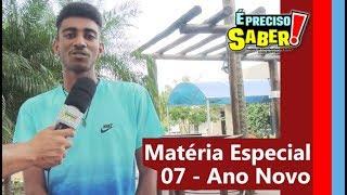 MATÉRIA ESPECIAL 7 - ANO NOVO
