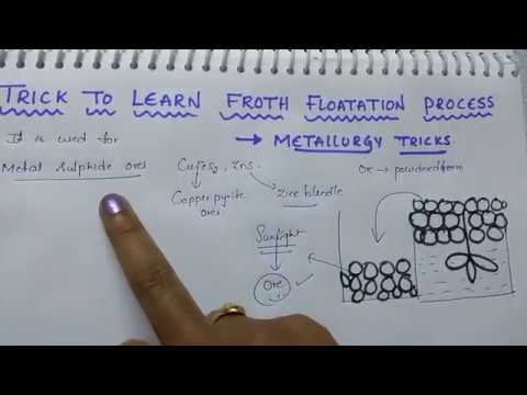 Trick to learn froth flotation process / Metallurgy tricks