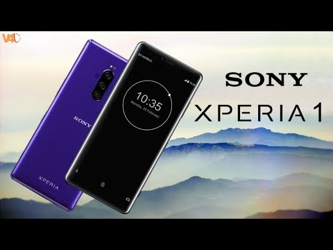 Sony Xperia 1 First Look, Release Date, Price, Specifications, Official, Trailer, Features, Launch