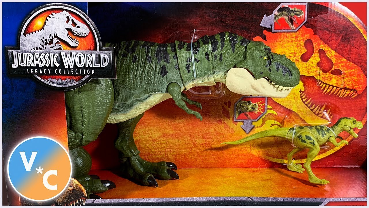 Jurassic World Legacy Collection Tyrannosaurus Rex Pack T Rex Jurassic Park
