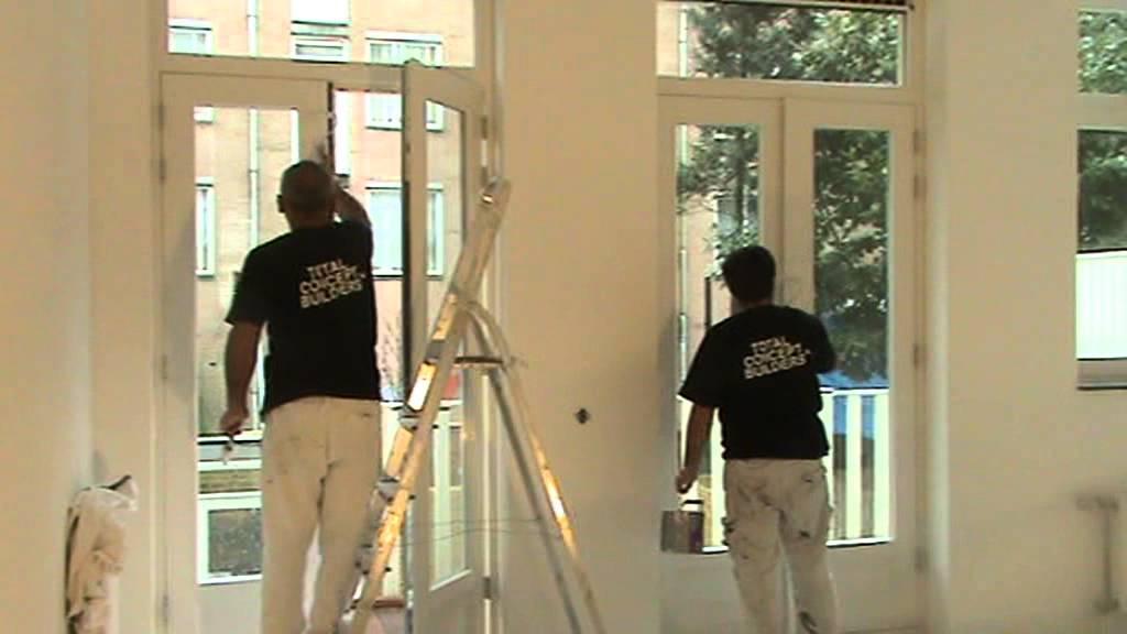 Kozijnen en deuren schilderen doe je zo youtube