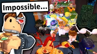 40 Spieler JOINED ME... es war IMPOSSIBLE zu gewinnen... (Roblox Flood Escape 2: CHAOS MODE)